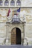Edificio histórico en leon — Foto de Stock