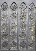 Bronze Hands — Foto Stock