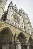 Historic cathedral in Leon — Stockfoto