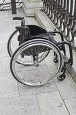 Arrêt de fauteuil roulant — Photo