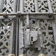 Stock Photo: Iron lock