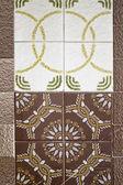 Decorative tiles — Stock Photo