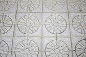 Mosaic floor — Stock Photo