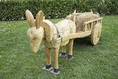Donkey Wood — Stock Photo