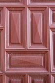 Puerta de madera roja — Foto de Stock