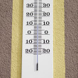 Temperature Thermometer — Stock Photo