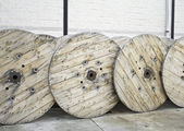 Roller timber — Stock Photo