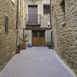 Alley in town — Stock Photo