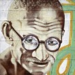 Cartoon gandhi — Stock Photo #19839731
