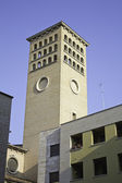 Tower in church — Stock Photo