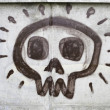 Foto Stock: Skull surprised