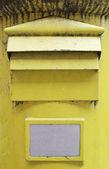 Sarı mektup — Stok fotoğraf