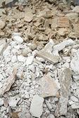 Bricks and rubble — Stock Photo