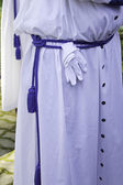 Catholic pilgrim Uniform — Stock Photo