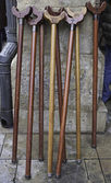 Wooden Canes — Stock Photo