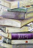 School Books — Stock Photo