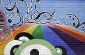 психоделический радуга — Стоковое фото