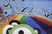 Psykedeliska rainbow — Stockfoto