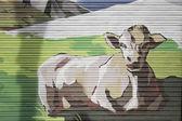 Cow resting — Zdjęcie stockowe
