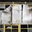 Stock Photo: Metal panels