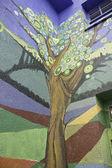 Psychedelic tree — Stock Photo