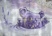 Bear scary — Stock Photo
