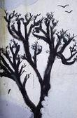 Gothic tree — Stock Photo