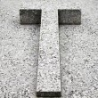 Stock Photo: Tomb with cross