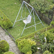 Swing in garden — Stock Photo
