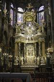 Spanish Cathedral Interior — Stock Photo