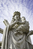 Virgin and Child — Stock fotografie