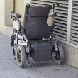 Powered wheelchair — Stock Photo