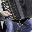 Musician with accordion — Stock Photo #26358739