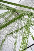 Architecture of Ferris wheel — Stock Photo