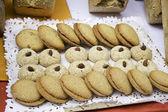 Cookies in pastry — Stock Photo