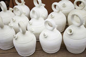 White jugs — Stock Photo