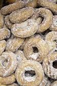 Gesuikerde donuts — Stockfoto