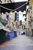 Medieval street — Stock Photo