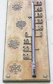 Termómetro climático — Foto de Stock