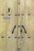 Porta medievale — Foto Stock