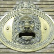 Stock Photo: Mailbox with lion