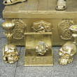 Stok fotoğraf: Treasury and skulls