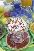 ストロベリー アイス クリーム — ストック写真
