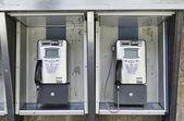 Cabine telefônica — Foto Stock