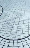Blue tiled pool — ストック写真