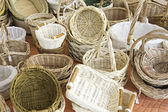 Handcrafted Baskets — Stock Photo