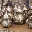 Stock Photo: Arab teapots