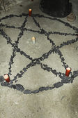 Pentágono demoníaco — Fotografia Stock