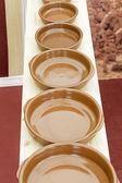 Clay pots and pottery — Stock Photo