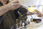 Glass Worker — Stock Photo